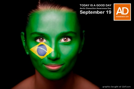 Aortic Dissection Awareness Day September 19 brazil